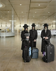 Frédéric Brenner - An Archeology of Fear and Desire - Ben Gurion Airport, 2010 - Howard Greenberg Gallery