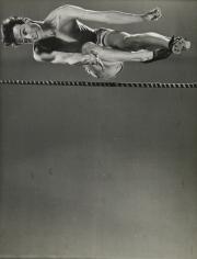 Gjon Mili - High Jumper Clarke Mallery, 1939 - Howard Greenberg Gallery
