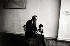 Robert Frank - Meyer Shapiro and Pablo, New York, 1953 - Howard Greenberg Gallery