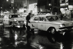 Bedrich Grunzweig - Times Square Taxis, c.1959- Howard Greenberg Gallery