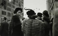 Saul Leiter - Hat, c.1952 - Howard Greenberg Gallery