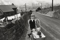 Bruce Davidson - Welsh Child with Stroller, 1965- Howard Greenberg Gallery