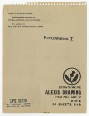 Dave Heath: Sketchbook