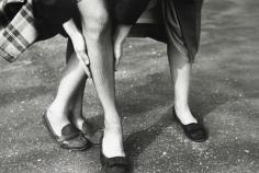 Saul Leiter - Kathy + Gloria, c.1949 - Howard Greenberg Gallery
