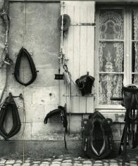 Paul Strand - Harnesses, Aspach le-bas, Haut-Rhin, France, 1951 - Howard Greenberg Gallery