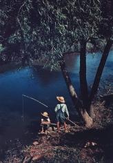 Marion Post-Wolcott - Boys fishing in Southern U.S., Schriever, LA, June 1940 - Howard Greenberg Gallery