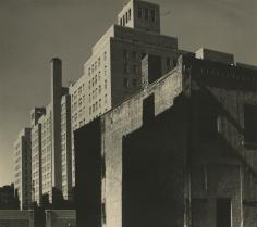 Eliot Elisofon - Untitled (study of buildings), 1935 - Howard Greenberg Gallery