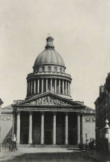 Charles Marville - L'Ecole D'Athenes, before 1872 - Howard Greenberg Gallery