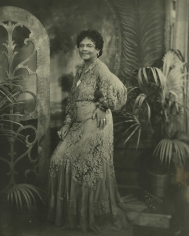 James Van Der Zee - Lady in Lace Dress, 1936 - Howard Greenberg Gallery