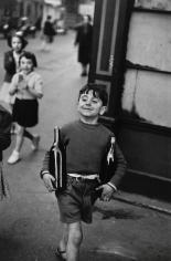 Henri Cartier-Bresson - Rue Mouffetard, Paris, 1954 - Howard Greenberg Gallery