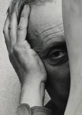 Arnold Newman - Jean Arp, New York, 1949 - Howard Greenberg Gallery