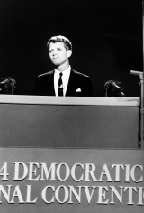 Bob Adelman - 1964 Democrat Convention, Robert Kennedy - Howard Greenberg Gallery