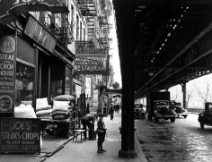 Arnold Eagle - First Avenue L, c.1935 - Howard Greenberg Gallery