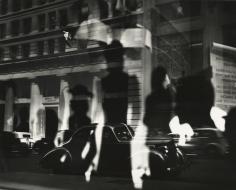 Lisette Model - Reflections, Rockefeller Center, New York, c.1945 - Howard Greenberg Gallery