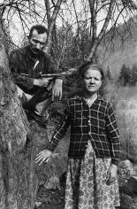 Mary Ellen Mark - Husband and Wife, Harlan County, Kentucky - Howard Greenberg Gallery