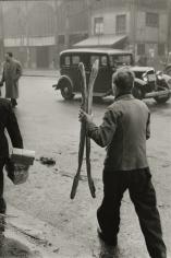 Marc Riboud - Two Baguettes, Paris, 1953 - Howard Greenberg Gallery