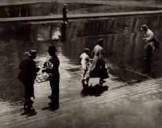 Adolf Fassbender - Passers - By, c.1935 - Howard Greenberg Gallery