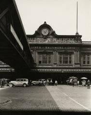 Berenice Abbott - Ferry: West Street, Foot of Liberty Street, Manhattan - Howard Greenberg Gallery