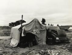 Dorothea Lange - Pea picker's home, Nipomo, California, 1936 - Howard Greenberg Gallery