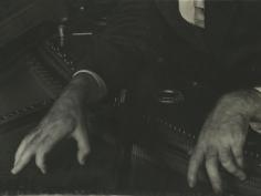 Imogen Cunningham - Hands of Henry Cowell, c.1926 - Howard Greenberg Gallery