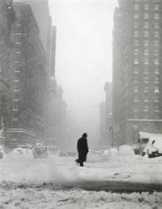Ted Croner - Little Man in Snow, 1947 - Howard Greenberg Gallery