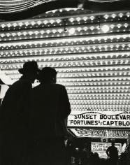Bedrich Grunzweig - Times Square Movie Theatre Marquee, New York City, c.1950 - Howard Greenberg Gallery