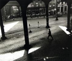 Rebecca Lepkoff - Under the 3rd Ave. El, 1947 - Howard Greenberg Gallery