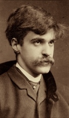 Alfred Stieglitz - Self-Portrait, c.1894 - Howard Greenberg Gallery