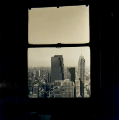 Walker Evans - Manhattan Through a Window, 1930s - Howard Greenberg Gallery