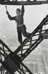 Marc Riboud: Eiffel Tower & New York Times building 2008 Howard Greenberg Gallery