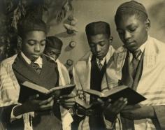 Alexander Alland - Black Jews in New York, 1940 - Howard Greenberg Gallery