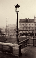 Charles Marville - Gare de l'Ouest, c.1865 - Howard Greenberg Gallery