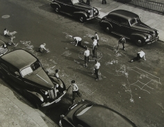 Arthur Leipzig - Chalk Games, 1959 - Howard Greenberg Gallery