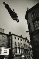 Marc Riboud - Trampoline, Bordeaux, France, 1987 - Howard Greenberg Gallery
