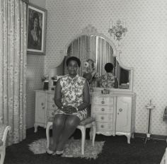 David Goldblatt - Untitled (woman in Soweto), 1972 - Howard Greenberg Gallery