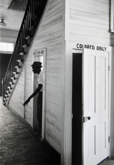 Bob Adelman - Courthouse, Clinton, Louisiana, 1963 - Howard Greenberg Gallery