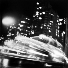 Ted Croner - Taxi, New York Night, c.1947 - Howard Greenberg Gallery