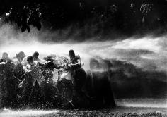 Bob Adelman - Water Hosing Demonstrators - Howard Greenberg Gallery
