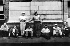Morris Engel - Waterfront - Trucker, New York City, 1948 - Howard Greenberg Gallery