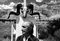 Arnold Newman - Georgia O'Keeffe, Ghost Ranch, New Mexico, 1968 - Howard Greenberg Gallery