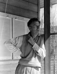 George Platt Lynes - Aldous Huxley, 1947 - Howard Greenberg Gallery