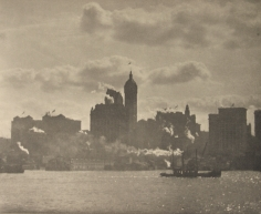 Alfred Stieglitz - Lower Manhattan, 1910 - Howard Greenberg Gallery