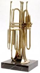 Untitled (Sliced Trumpet)