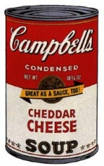 Cambell's Soup II (Cheddar Cheese)