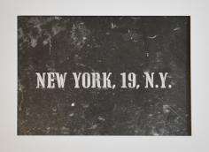 New York, 19, N.Y.
