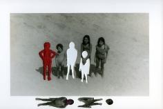 Carolle Bénitah, Photos-Souvenirs, Enfance, à la plage (at the beach), 2009, Sous Les Etoiles Gallery