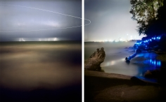 Barry Underwood, Scenes, Edgewater (Diptych), 2013, Sous Les Etoiles Gallery