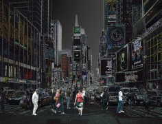 Wolfram Ruoff, Pure Lines, Times Square, 2006, Sous Les Etoiles Gallery
