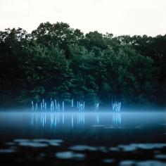 Barry Underwood, Scenes, Trace (Blue), 2008, Sous Les Etoiles Gallery