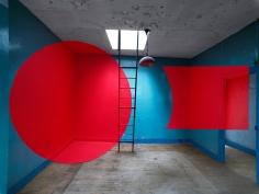 Georges Rousse, Montferrand, 2012, Sous Les Etoiles Gallery